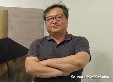 Der Künstler Yim Dai-shik und sein Salon Artetain