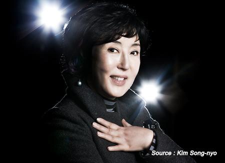 'Godmother of Madang Nori' Kim Song-nyo