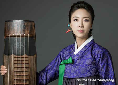 コムンゴ奏者、ホ・ユンジョン