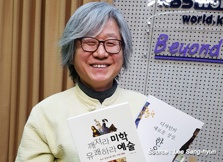 韓屋研究所の所長、イ・サンヒョン