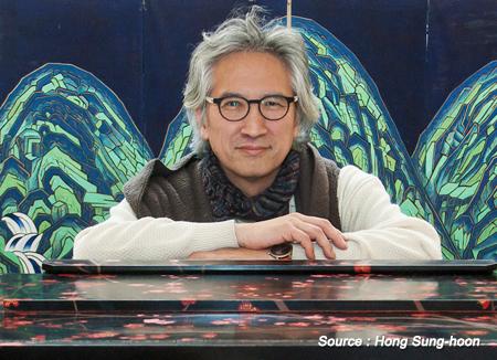 Orgelbaumeister (Organ-building master) Hong Sung-hoon