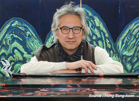 Der Orgelbaumeister Hong Sung-hoon