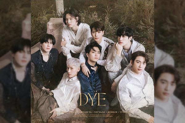 « DYE »,nouveau mini-album de GOT7