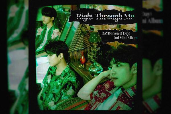 « Right Through Me », 2e mini-album de DAY6 (Even Of Day)