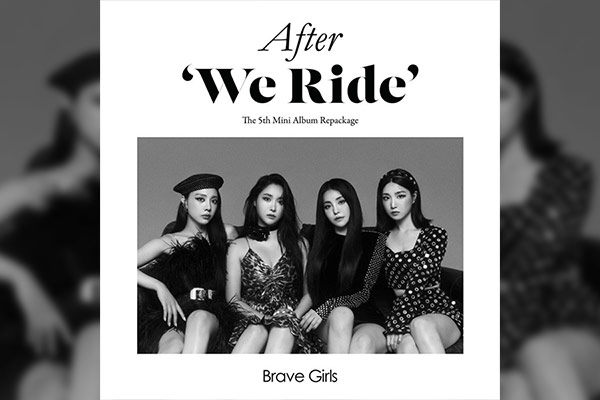 « AFTER `WE RIDE`», l'album repackage de Brave Girls