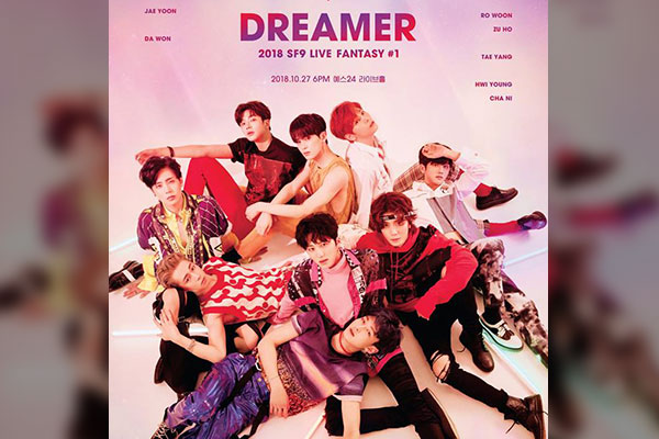 2018 SF9 LIVE FANTASY #1 [DREAMER]