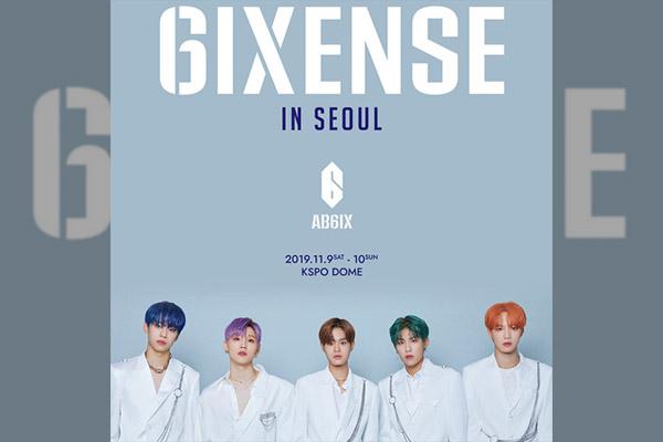 """AB6IX 1st World Tour """"6IXENSE IN SEOUL"""""""