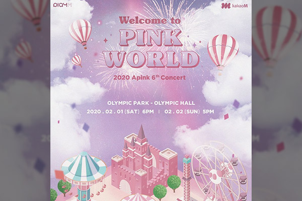 "2020 Apink 6th Concert ""Welcome to PINK WORLD"""