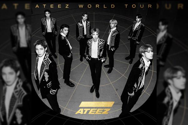 "ATEEZ World Tour ""The Fellowship : Map The Treasure"""