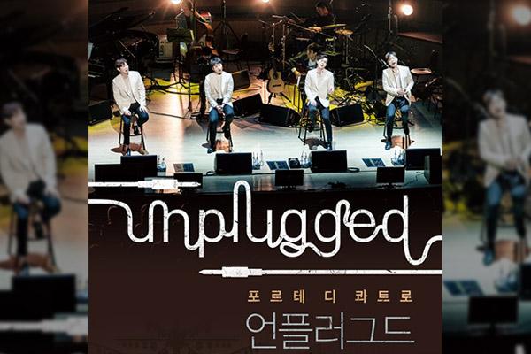 Forte di Quattro organise un «Unplugged Concert »
