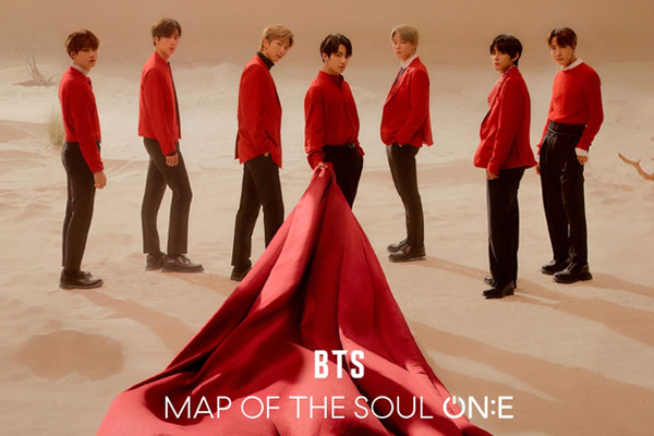 BTS MAP OF THE SOUL ON:E