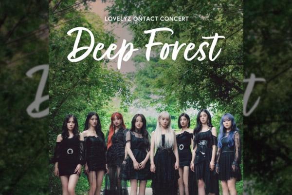 LOVELYZ ONTACT CONCERT Deep Forest