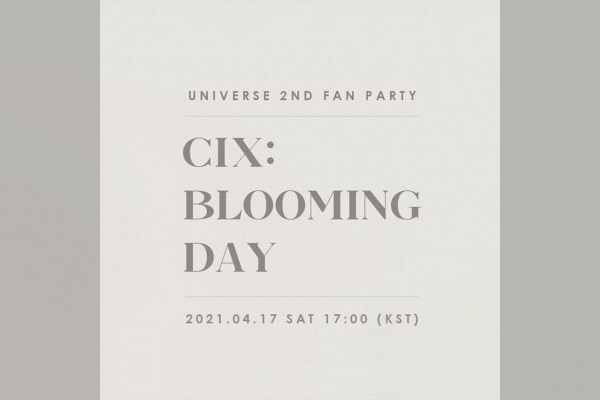 "CIX ""Blooming Day"""