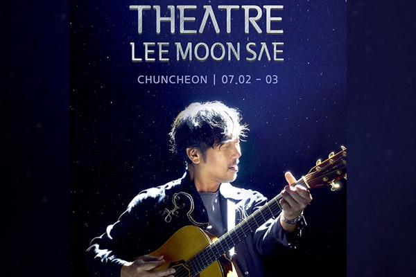 2021 Theatre : Lee Moon-sae se produira en concert à Chuncheon