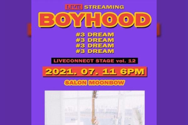 "LIVECONNECT STAGE vol. 12 ""BOYHOOD #3 DREAM"""