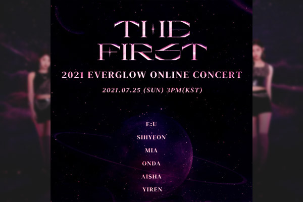 The First : Everglow organise son premier concert en ligne
