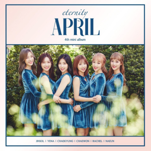 """APRIL 4th Mini Album """"eternity"""" (APRIL)"""