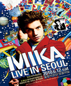 """""""MIKA LIVE IN SEOUL"""""""