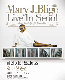 Mary J. Blige - Live in Seoul
