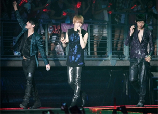 JYJ World Tour Concert In Busan
