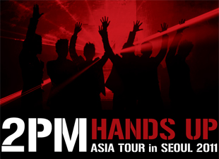2PM HANDS UP ASIA TOUR in SEOUL 2011