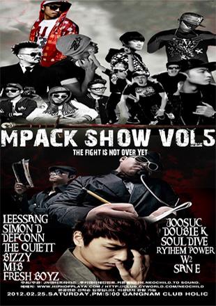 LeeSsang & Simon D's Hip Hop Concert『M PACK SHOW VOL. 5』