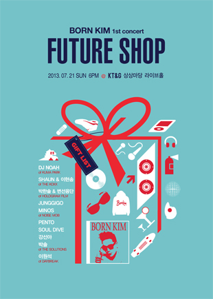 BORN KIM 1st Concert「FUTURE SHOP」