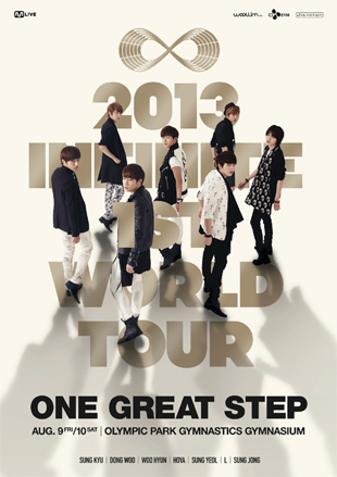 2013 INFINITE 1st WORLD TOUR[ONE GREAT STEP]