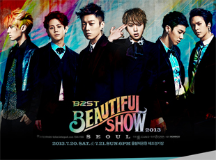 2013 BEAUTIFUL SHOW - BEAST Concert