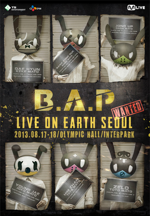 BAP Live On Earth Seoul Concert [Wanted]