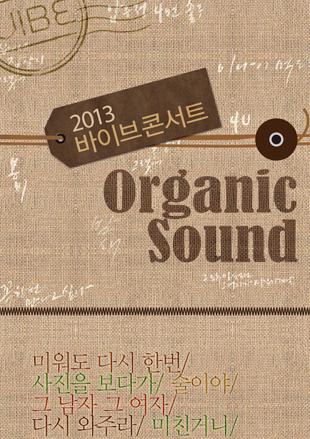 2013 Vibe Concert <Organic Sound>