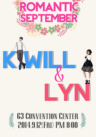 "K.WIll & Lyn Concert:""Romantic September"""