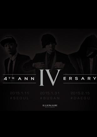 ILLIONAIRE 4th Anniversary Concert - SEOUL