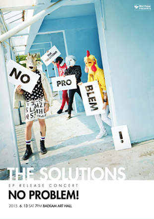 THE SOLUTIONS: Album Release Concert <NO PROBLEM!>