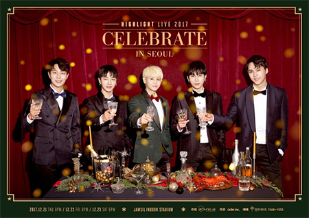 "HIGHLIGHT LIVE 2017 ""CELEBRATE"" in SEOUL"