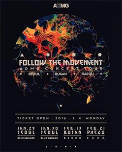 AOMGコンサート「Follow The Movement」