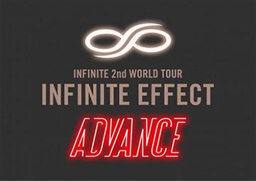 "2016 INFINITE 2nd WORLD TOUR ""INFINITE EFFECT"" ADVANCE"