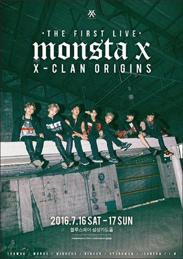 MONSTA X THE FIRST LIVE