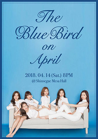 April ミニコンサート 「The Blue Bird on April」