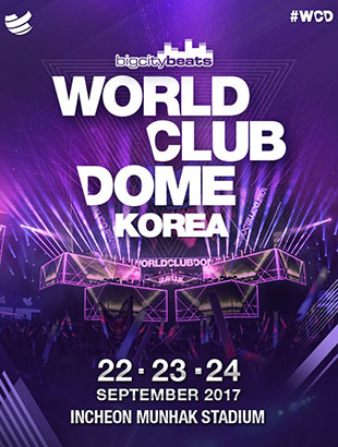 BigCityBeats WORLD CLUB DOME KOREA 2017