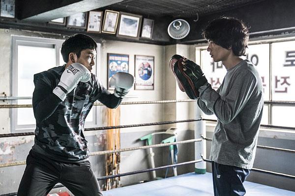 Võ Sĩ Say Đòn ( My punch-drunk boxer)