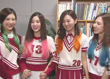 Red Velvet变身爵士少女 演绎SES作品《Be Natural》
