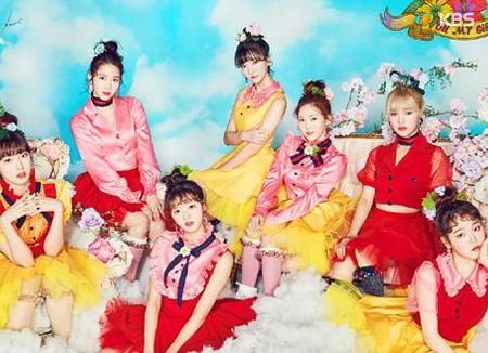 Группа OH MY GIRL покажет весну во всех ее красках