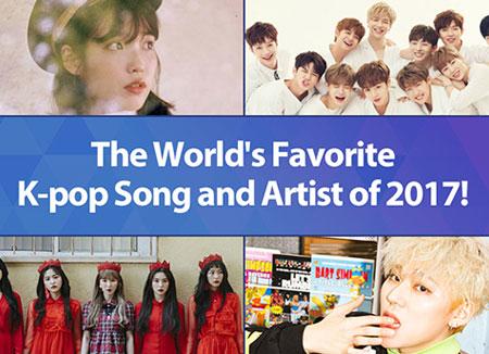 "KBS World Radio""全世界人最喜爱的K-pop""盘点结果"