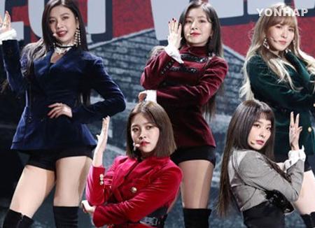 Группа Red Velvet поднялась на первую строчку