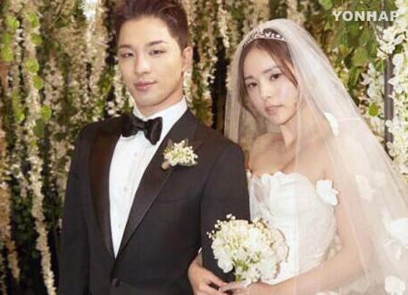 Тхэ Ян и Мин Хё Рин в романтической фотосессии