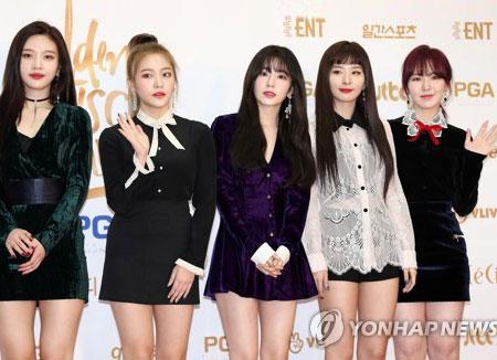 "Red Velvet《Red Flavor》获封韩国大众音乐奖""最佳流行歌曲"""