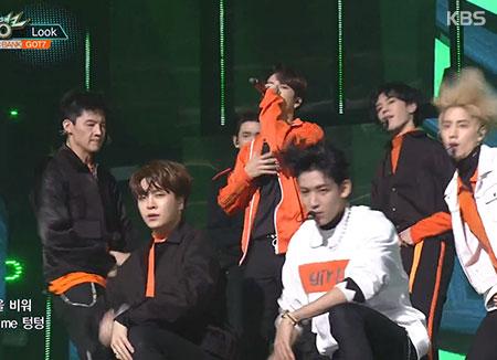 GOT7《Look》打歌成绩好到爆 成员录制现场视频感谢歌迷