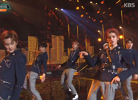 BoA现身综艺节目 声援后辈NCT