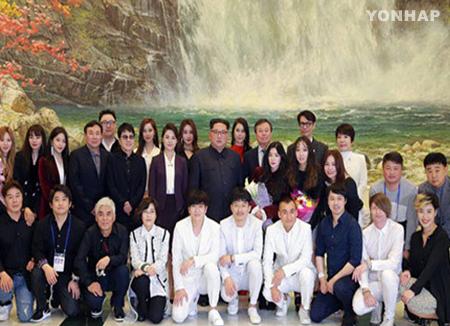 Южнокорейские музыканты в Пхеньяне